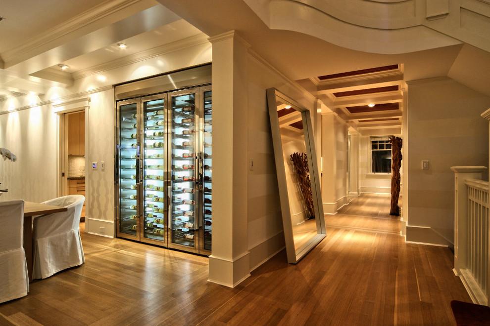 custom wine fridge